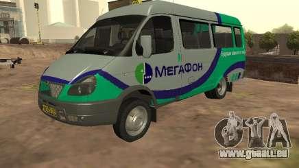 Gazelle 32213 Megaphon für GTA San Andreas