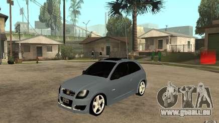Chevrolet Celta VHC 2011 pour GTA San Andreas