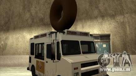 Donut Van pour GTA San Andreas