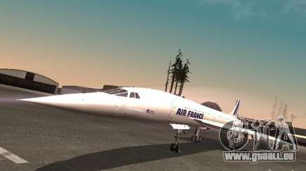 Aerospatiale-BAC Concorde Air France für GTA San Andreas