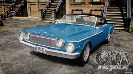 Dodge Dart 440 1962 pour GTA 4