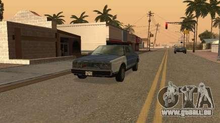 Les taxis romains de GTA4 pour GTA San Andreas