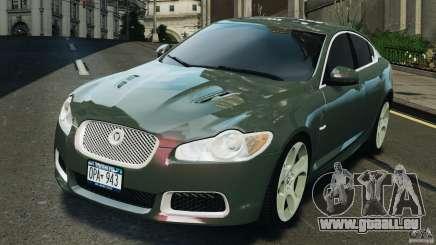 Jaguar XFR 2010 v2.0 pour GTA 4