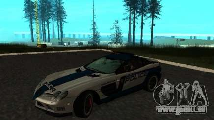 Mercedes-Benz SLR 722 SCPD für GTA San Andreas