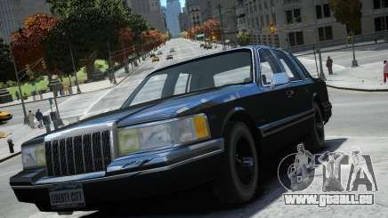 Lincoln Towncar 1991 pour GTA 4