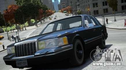 Lincoln Towncar 1991 pour GTA 4