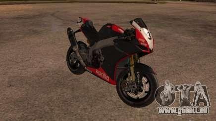 Aprilia RSV4 pour GTA San Andreas