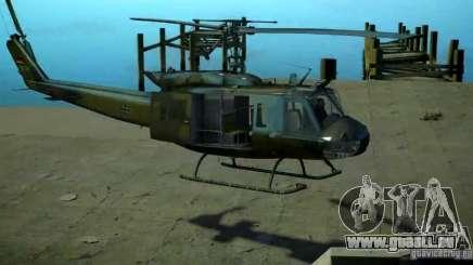 Bell UH-1D German Bundeswehr pour GTA 4