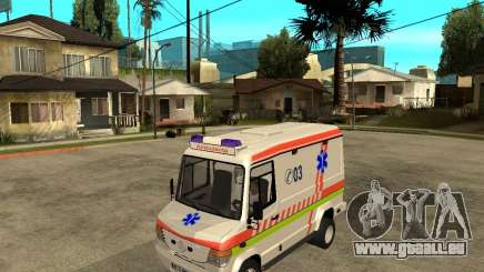 Mercedes-Benz Vario 512 D Ambulamce pour GTA San Andreas