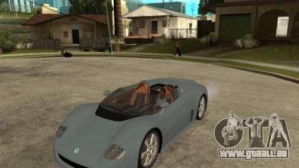 Volkswagen W12 pour GTA San Andreas