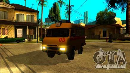 UAZ 3962 Medical pour GTA San Andreas