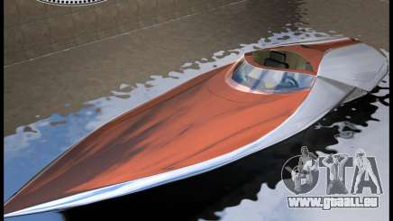 Bugatti Sang Bleu Speedboat für GTA Vice City