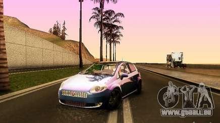 Fiat Punto Multijet für GTA San Andreas