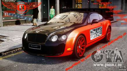 Bentley Continental SS 2010 Le Mansory [EPM] pour GTA 4