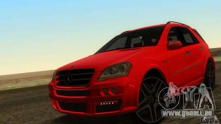 Mercedes-Benz ML63 AMG Brabus pour GTA San Andreas