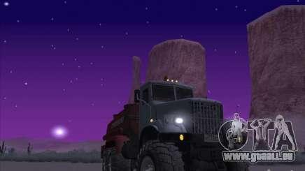 Camion KrAZ-255 carburant pour GTA San Andreas