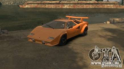 Lamborghini Countach LP500 1985 pour GTA 4