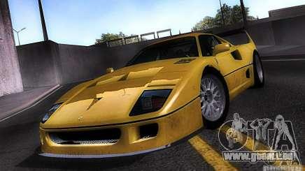 Ferrari F40 GTE LM für GTA San Andreas