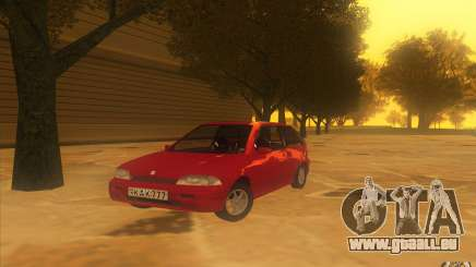 Suzuki Swift GLX 1.3 pour GTA San Andreas