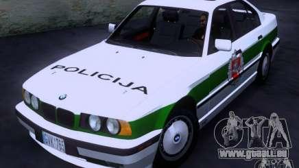BMW E34 Policija pour GTA San Andreas