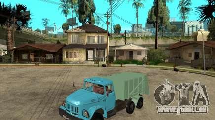 ZIL 131 Müllwagen für GTA San Andreas