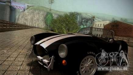 Shelby Cobra 427 Full Tunable für GTA San Andreas