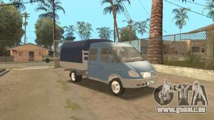 Gaz Gazelle 33023 agriculteur pour GTA San Andreas