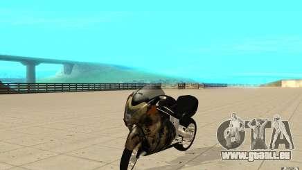 GTAIV TLAD Hakuchou Custom Version [paintjob] pour GTA San Andreas