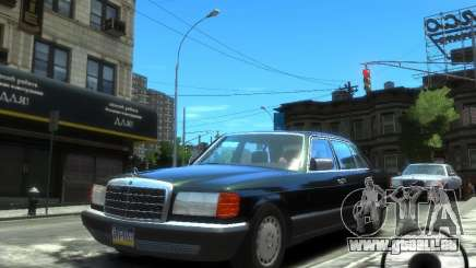Mercedes-Benz W126 SEL560 1990 pour GTA 4