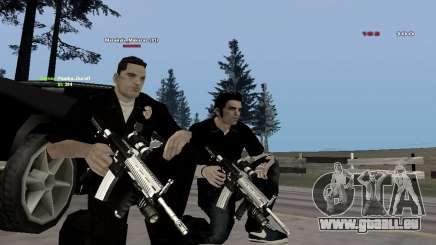 Black & White guns für GTA San Andreas