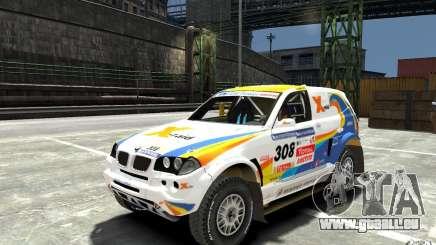 BMW X3 CC DAKAR pour GTA 4