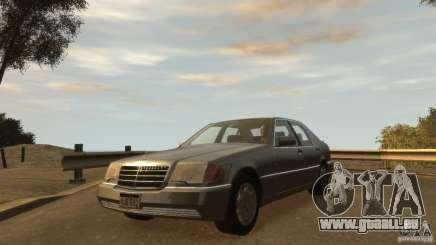 Mersedes-Benz 500SE Wheels 2 pour GTA 4