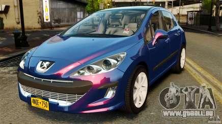 Peugeot 308 2007 für GTA 4