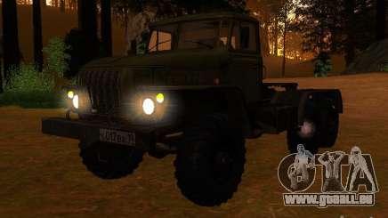 Ural-4420-Traktor für GTA San Andreas