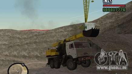 KAMAZ UDS für GTA San Andreas