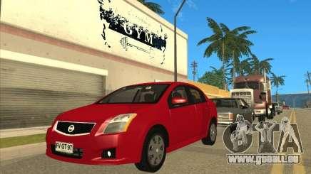 Nissan Sentra 2012 für GTA San Andreas