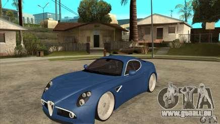 Alfa Romeo 8C Competizione pour GTA San Andreas