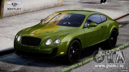 Bentley Continental SS 2010 Suitcase Croco [EPM] pour GTA 4