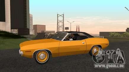 Plymouth Cuda Ragtop 1970 für GTA San Andreas