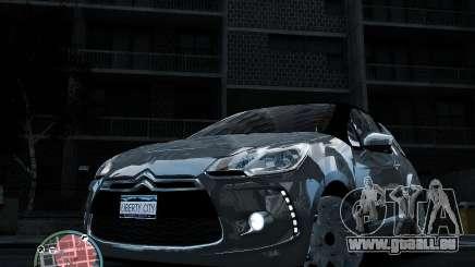 Citroen DS3 2011 für GTA 4