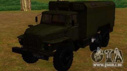 Ural Kung 4320 pour GTA San Andreas