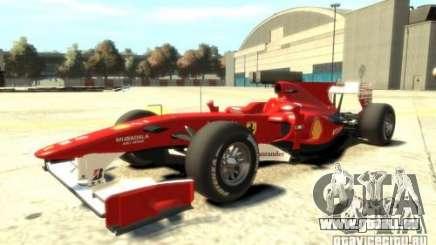 2010 Scuderia Ferrari F10 pour GTA 4