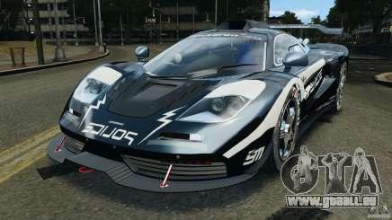 McLaren F1 ELITE Police [ELS] pour GTA 4