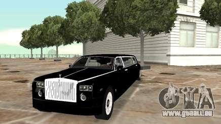 Chauffeur de Rolls-Royce Phantom Limousine 2003 pour GTA San Andreas
