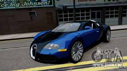 Bugatti Veyron 16.4 v1.0 wheel 2 für GTA 4