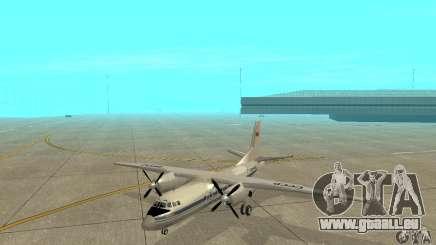 Antonow an-24 für GTA San Andreas