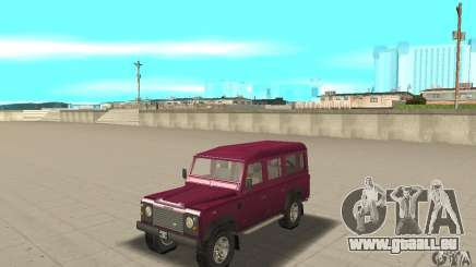 Land Rover Defender 110SW pour GTA San Andreas
