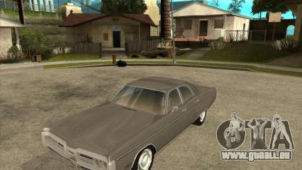 1972 Plymouth Fury III Stock pour GTA San Andreas