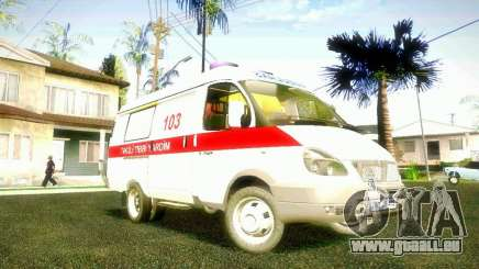 Gazelle 2705 BAKU AMBULANS für GTA San Andreas