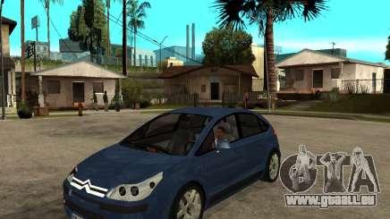 Citroen C4 SX 1.6 HDi pour GTA San Andreas